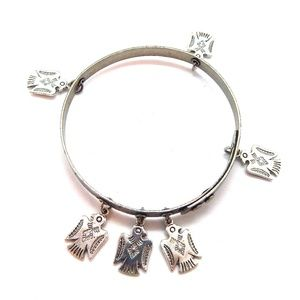 THUNDERBIRD SILVER THUNDERBIRD BANGLE NEW